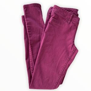 Red Hollister jeans